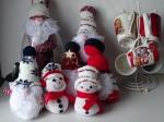 Christmas gonks, snowmen, mugs