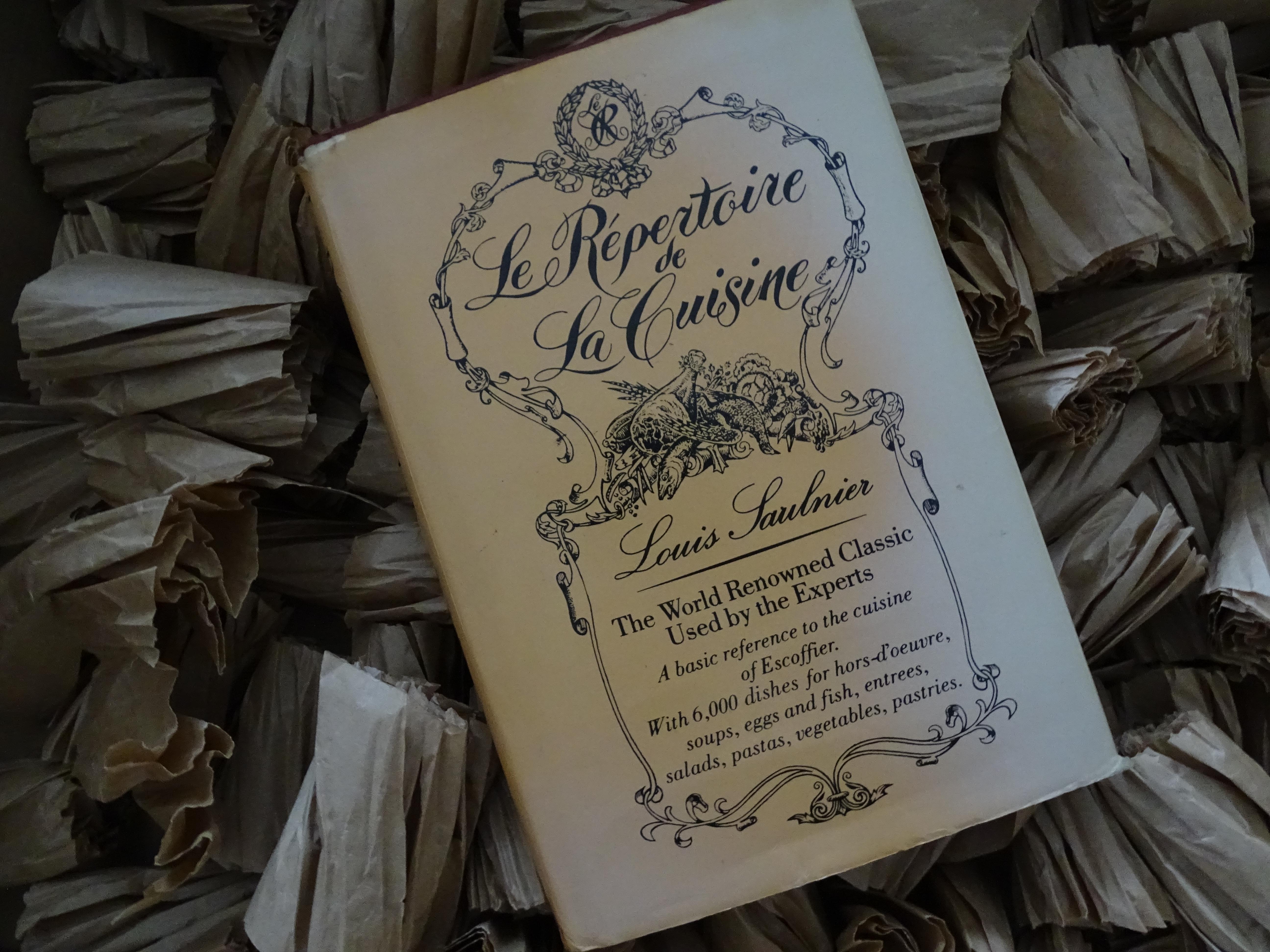 copy, Le Repertoire de La Cuisine book