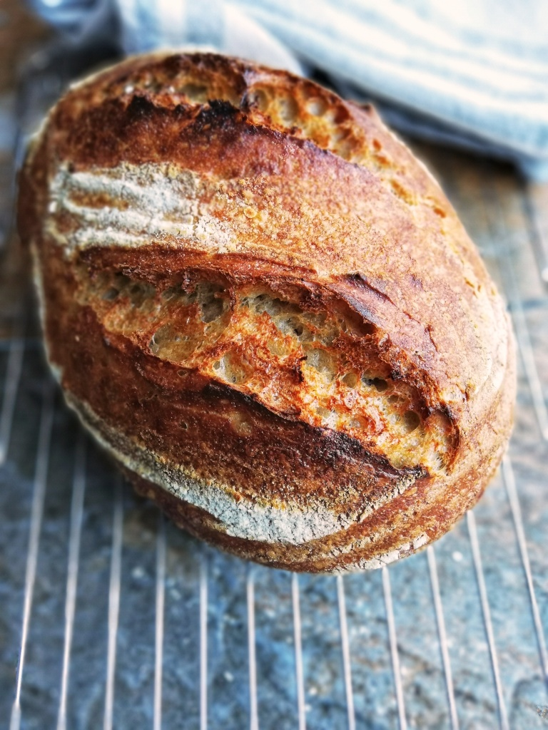 Sourdough loaf for steak sandwich