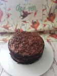 Vegan chocolate cake, for the great ape bake off