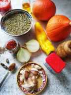Image,Ingredients for uchiki kuri squash recipe